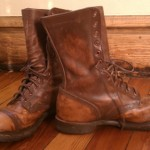 WWI Boots Restoration